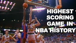 The Highest Scoring Game In NBA History: Pistons @ Nuggets 186-184 3OT!