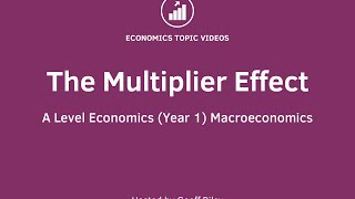 The Multiplier Effect in Economics - Explained