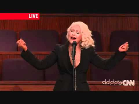 Christina Aguilera - At Last  Etta James Funeral - Geo Martìn