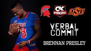 OKPreps Verbal Commit - Brennan Presley