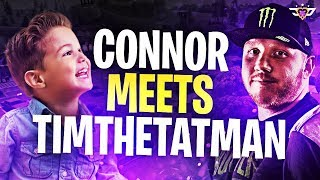 CONNOR MEETS TIMTHETATMAN! HE ROASTS HIM AND KILLS HIM! (Fortnite: Battle Royale)