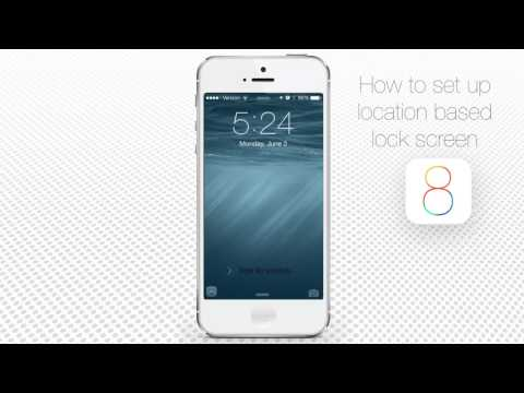 How to Setup Location Based Lock Screen and Quick Access to Apps