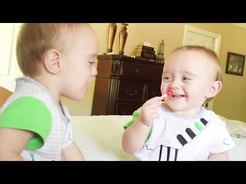 The Moments Cute And Naughty Toddler Twins   Cutest Baby Videos