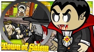 NEW VAMPIRE HUNTER GAMEMODE! - TOWN OF SALEM MURDER MYSTERY WITH FRIENDS | JeromeASF