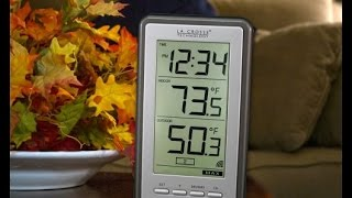 Review: La Crosse Technology WS-9160U-IT Digital Thermometer with IndoorOutdoor Temperature