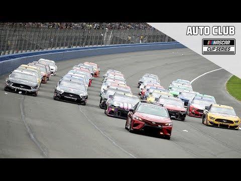 NASCAR オートクラブ400 レースフル動画