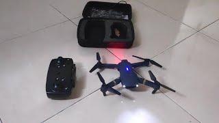 Testing fly eachine e58 | mavic mini clone | panas engine