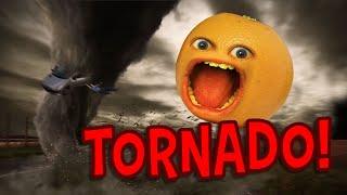 Annoying Orange - Tornado Terror!!! 🌪 (Supercut)