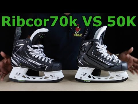CCM Ribcor 70k vs 50k Ice Hockey skates review – What has changed?