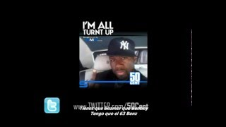 50 Cent   'I'm All Turnt Up' Freestyle subtitulado en español