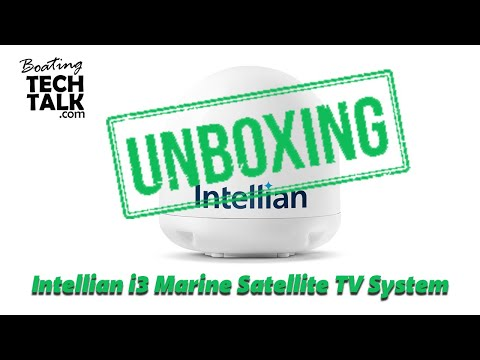 Unboxing and Product Review -  Intellian i3 Marine Satellite TV System
