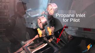Propane to Light the Pilot for a Rental Boiler - Boiling Point