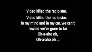 Video Killed the Radio Star - Buggles (LYRICS on Screen)