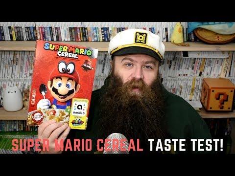 Super Mario Cereal taste test!