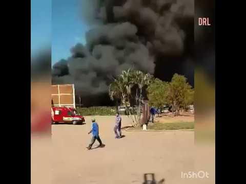 Incêndio em usina assustou os moradores da cidade de Novo Horizonte