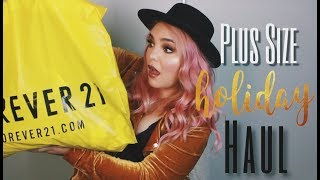 PLUS SIZE FASHION TRY ON HAUL   F21 Budget Way to be EXTRA