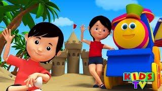 Head Shoulders Knees And Toes | Nursery Rhymes With Bob | Kids TV | bob the train