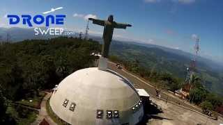 preview picture of video 'Teleferico Puerto Plata Aerial Video of Jesus'