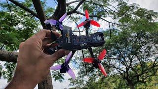 Treinando manobras entre as árvores - Iflight DC3 e DJI Digital Fpv System
