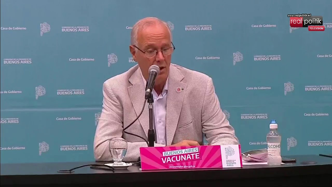 Coronavirus: El gobierno bonaerense detalla la situación epidemiológica provincial
