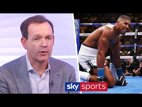 """""""If he loses to Ruiz again he'll have to take a long look at his career!' - Adam Smith on Joshua"""