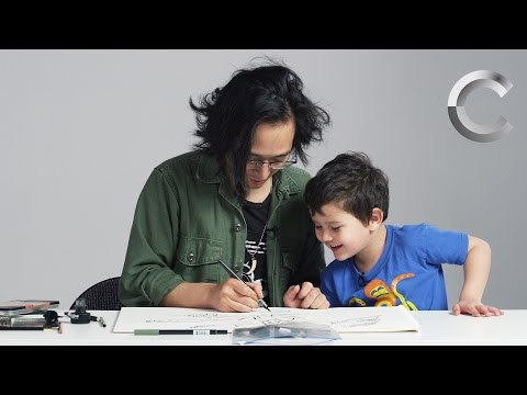 Kids Describe God to an Illustrator
