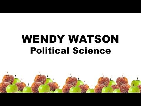 Play Wendy Watson - Political Science video