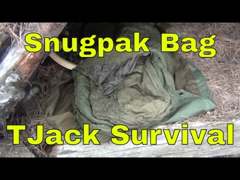 Wool vs Synthetic and Snug Pack Sleeping Bag Review