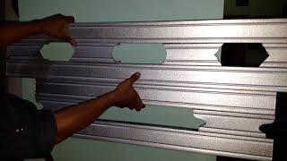 youtube cara membuat kanopi baja ringan teras rumah