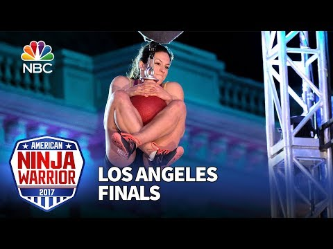 Rebekah Bonilla at the Los Angeles Finals - American Ninja Warrior 2017