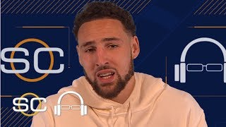 Klay Thompson talks Warriors' chase for a 5th ring and his love for dunking    SC with SVP