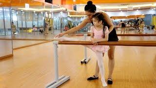 Lớp ballet dành cho trẻ nhỏ của Quán quân Đỗ Hải Anh