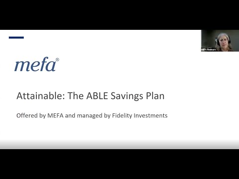 The MEFA Institute: Deep Dive into The Attainable Savings Plan