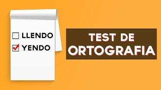 Tienes una buena ortografía? Descubre que tan buena es tu ortografía con este divertido test! ↠↠ ¡No te olvides de suscribirte para no perderte ningún test!