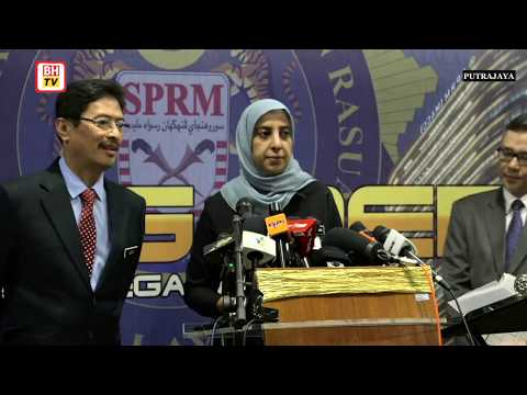 [LIVE] Sidang Media berhubung tindakan undang-undang terkini SPRM berkenaan 1MDB