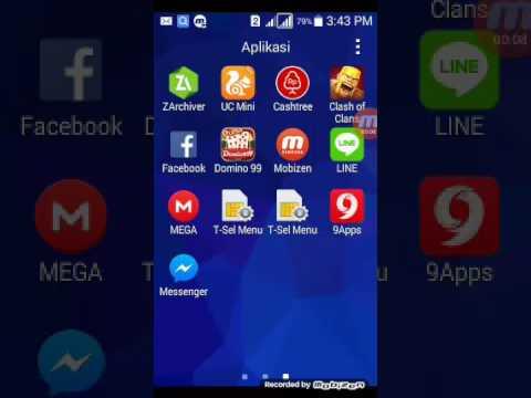 Video Cara upload file ke mega app