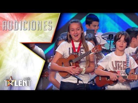 ¡Estos ukeleles no paran de salir nunca! | Audiciones 7 | Got Talent España 2017