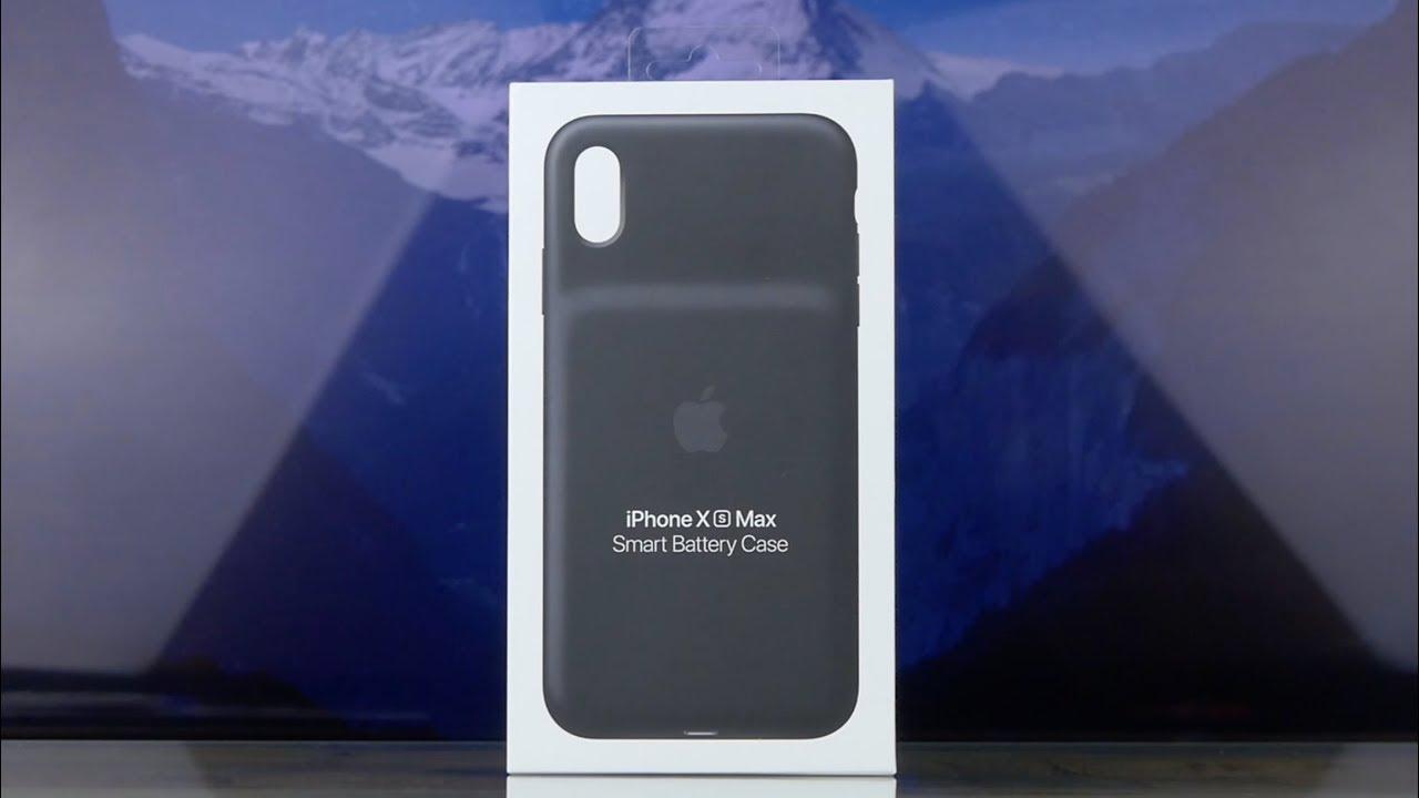 Чехол-батарея Apple Smart Battery Case (Black) MRXQ2ZM/A для iPhone XS Max video preview