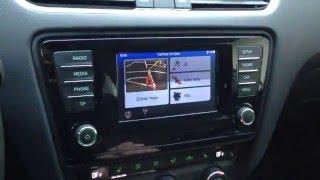 Představení modulu navigace pro autorádio Bolero - Škoda Octavia 3 generace, VW Passat B8