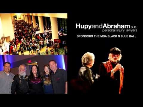 Hupy and Abraham Sponsors the 2016 MDA Black-N-Blue Ball