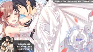 Gambar cover Nightcore - No Promises +Lyrics