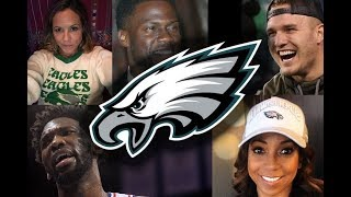 Celebrities Reacting To Eagles Winning Super Bow 52 (Will Smith, Kobe Bryant, Kevin Hart,  more)