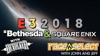 Rage Select E3 2018 Recap - Bethesda, Square Enix, and Devolver Digital
