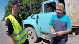Дорожная полиция Кропивницкого на страже порядка.