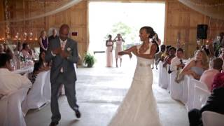 Epic Father/Daughter Dance with SURPRISE guest!