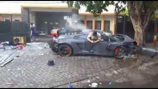 Thiếu gia lái Lamborghini đâm chết người chỉ vì thích đua với Ferrari