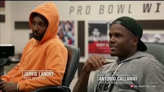 Hard Knocks: Jarvis Landry Teaching Antonio Callway