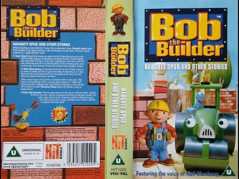Bob the Builder - Naughty Spud and other stories [VHS] (1999)