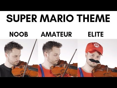 4 levels of Mario music