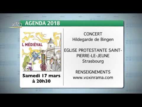 Agenda du 2 mars 2018